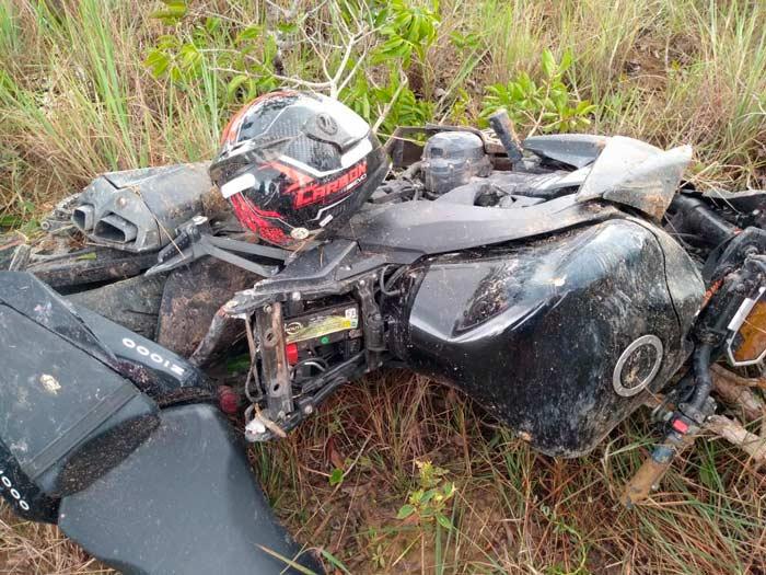 Motociclista sofre grave acidente na AP-070