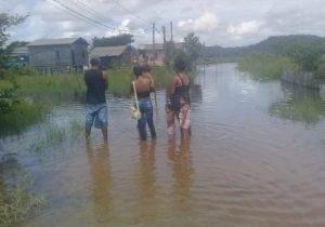Elevação do Rio Jari já afeta mobilidade, diz Defesa Civil