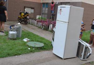 Bandidos furtam apartamento onde mulher foi assassinada pelo ex-marido