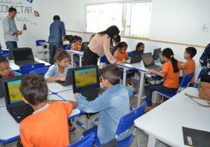 Alunos de escola reformada terão aulas de robótica