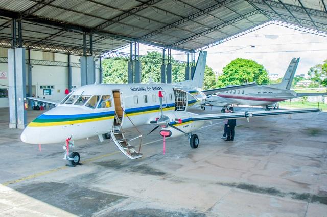 De volta, avião do governo estadual vai auxiliar ações humanitárias no Amapá