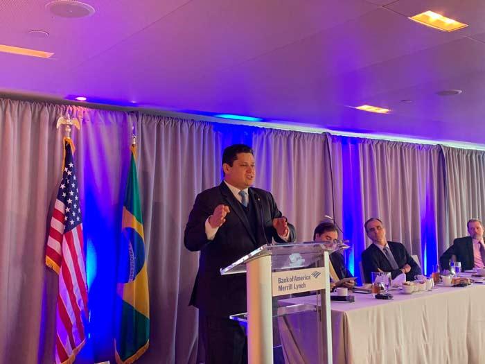 Em NY, Davi diz a investidores que Congresso aprovará reforma