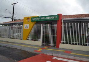 Chuva provoca adiamento de inauguração de escola em Macapá