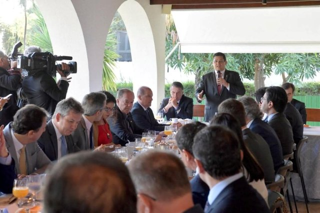A governadores, Davi diz que novo pacto federativo está vinculado à reforma da previdência