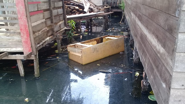 Área de ressaca acumulava 15 toneladas de lixo