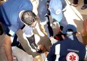 Motorista é baleado ao sair de distribuidora