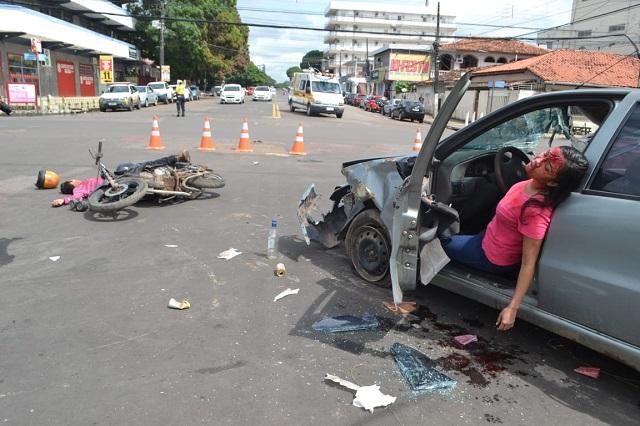 O perigo de usar o celular ao dirigir