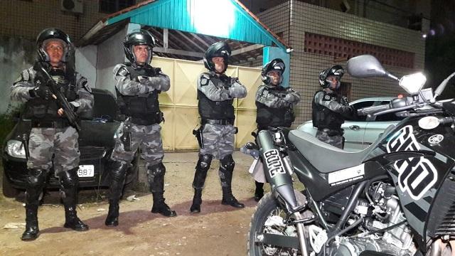 Condenado desafia patrulheiros do Giro e acaba preso