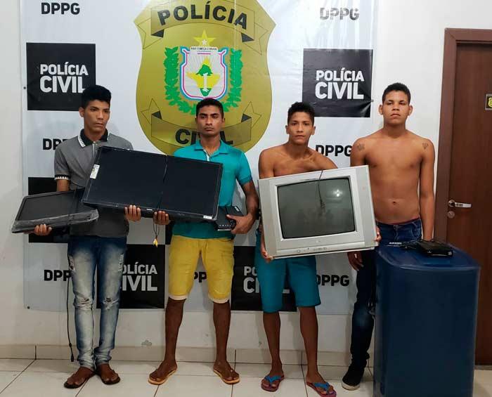 Policiais civis recuperam objetos furtados de UBS e comércio