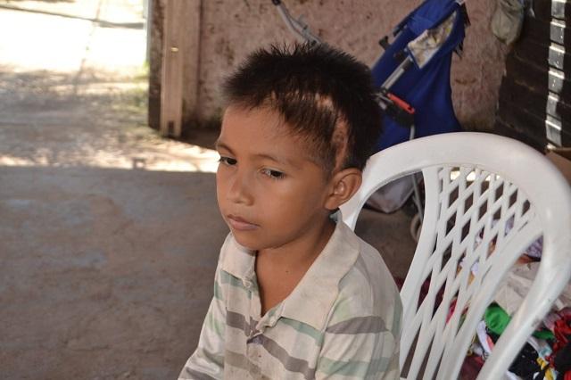 """""""Só quero viver"""", diz garoto com câncer que precisa de doação para rifa e bingo"""