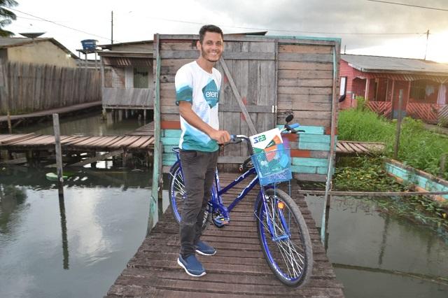 Solidariedade: Agora ele atravessará a cidade de bicicleta para estudar