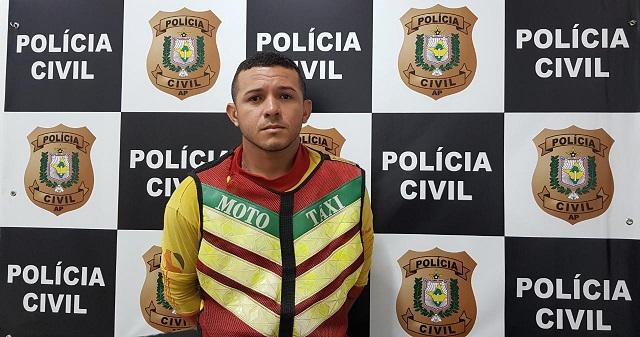 Mototaxista clandestino que assaltou passageiro é indiciado. VÍDEO