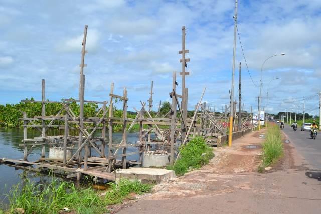 Mesmo com paralisação, Setrap diz que Ponte da Lagoa estará pronta no fim do ano