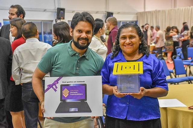 Escola pública é premiada por iniciativa empreendedora