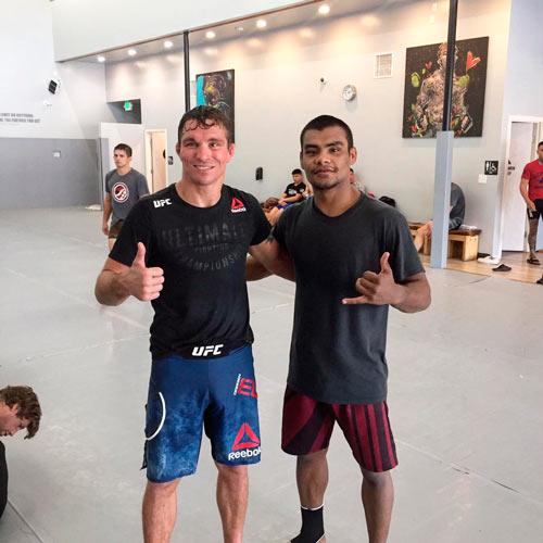 Raulian treina nos EUA para UFC no Uruguai