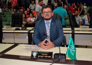 Pela 3ª vez, MP Eleitoral pede cassação de deputado
