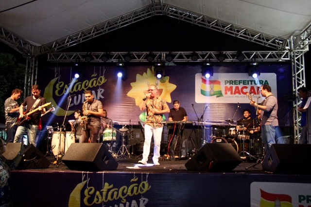 Com música regional, rock e samba, Macapá Verão segue a todo vapor