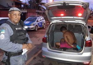 Homem é preso após bater na esposa e ferir a cunhada