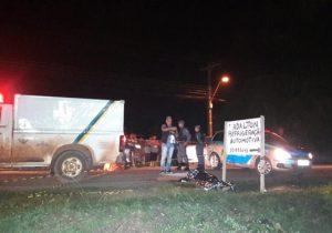 Ciclista morre atropelado na rodovia do Curiaú. Motorista fugiu