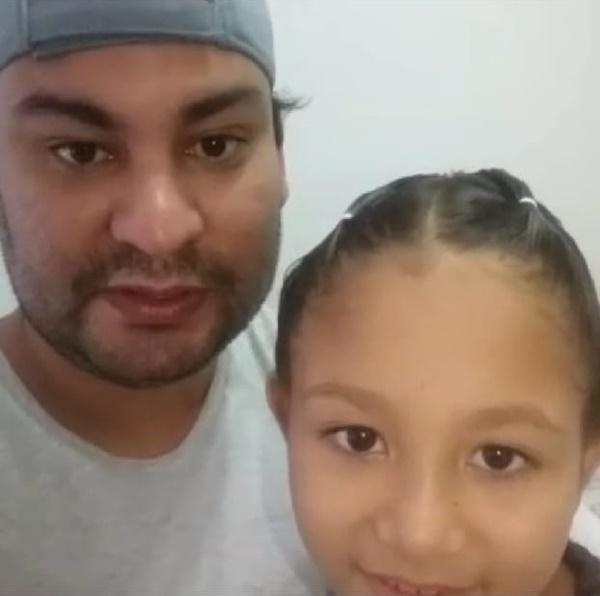 Menina que retirou tumor precisa de ajuda em tratamento, desabafa o pai