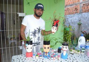 Amapaense combate crises depressivas através da arte