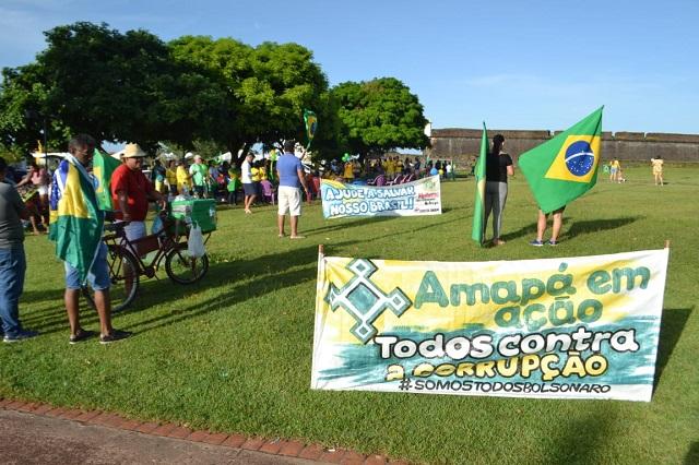 Ato por Sérgio Moro e reforma da Previdência tem movimento tímido no Amapá