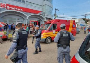 Policial militar é ferido a tiros durante assalto