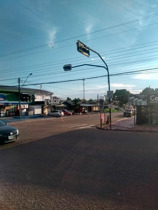 CTMac diz que quedas de energia afetam semáforos