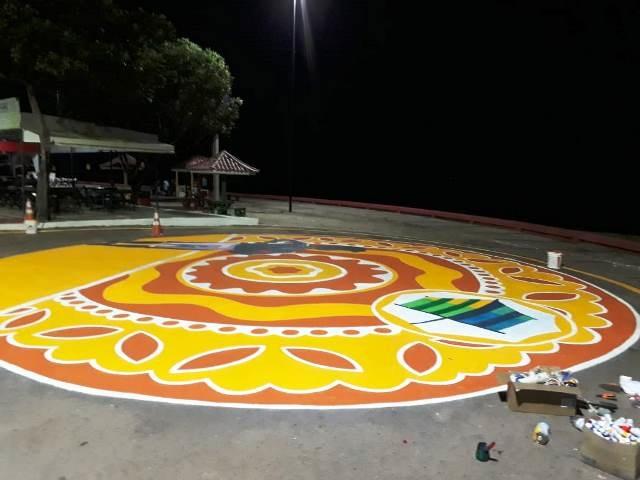 Balneário da Fazendinha ganha obras de grafiteiros