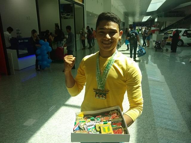 Prodígio do karatê amapaense vence torneio nacional