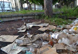 Após desocupação de empresa, prédio do Macapá Hotel é depredado