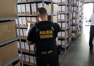 PF apreende processos 'soterrados' em fraudes de auxílio-reclusão no Amapá