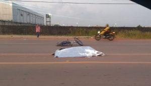Ciclista morre atropelado na rodovia Duca serra