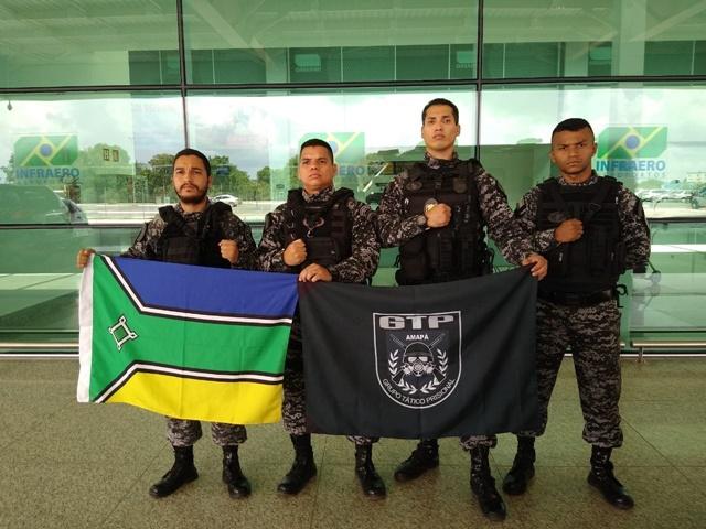 Agentes penitenciários do AP reforçam intervenção em presídios no Pará
