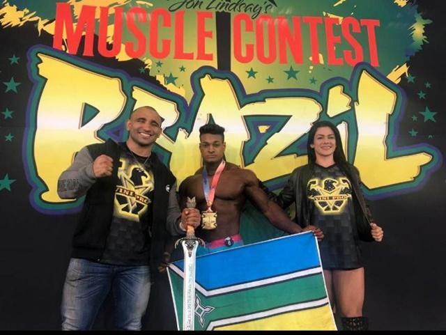 Amapaense vence competição internacional de fisiculturismo