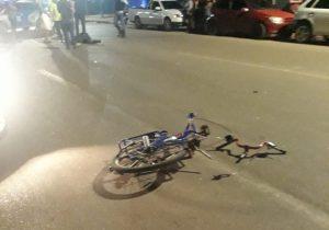 Polícia procura motorista que atropelou ciclista; vítima teve braço amputado