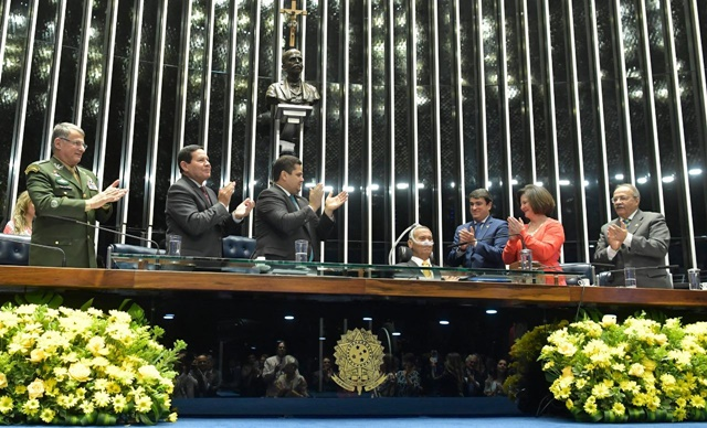 """""""Um grande brasileiro"""", diz Davi em homenagem a general Villas Boas"""