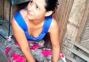 VÍDEO: Jovem se desespera ao ser flagrada com drogas