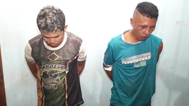 Assaltantes levam surra da população antes de serem presos