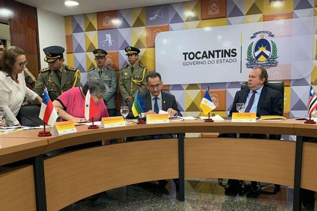 Consórcio define combate ao desmatamento ilegal como prioridade