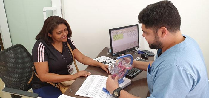 As principais consultas médicas e exames numa só manhã no checkup do ICCA