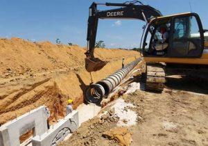 Palácio das Águas: rede de drenagem terá mais de 3,2 km