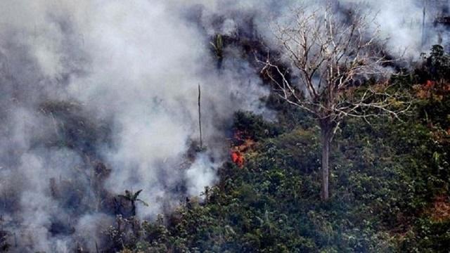 """Chuvas """"seguram"""" incêndios no Amapá, mas não por muito tempo"""