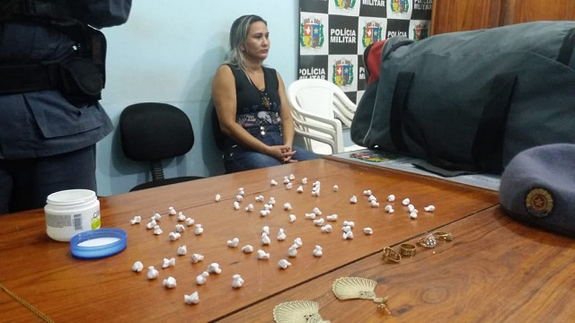 Mulher levaria drogas de Macapá para o Bailique, diz PM