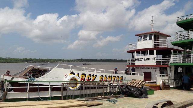 Navio do Pará avaliado em R$ 1 milhão é recuperado pela polícia do Amapá