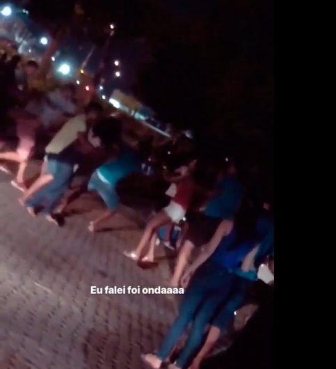 Parque do Forte tem cenas de bebedeira e selvageria entre jovens de Macapá