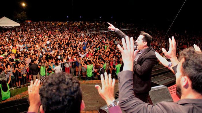 No Amapá, Sermão da Montanha atrai 80 mil pessoas, sem ocorrências