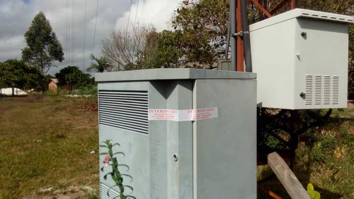 Fiscais interditam cinco torres de telefonia celular em Porto Grande