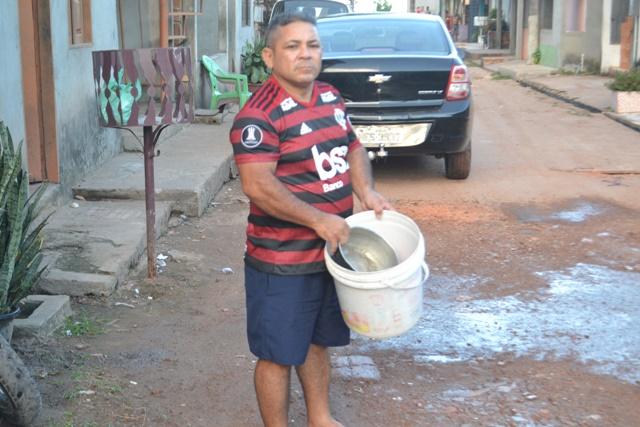 """""""Parece o fim de um calvário"""", afirma morador sobre obra no Cidade Nova"""