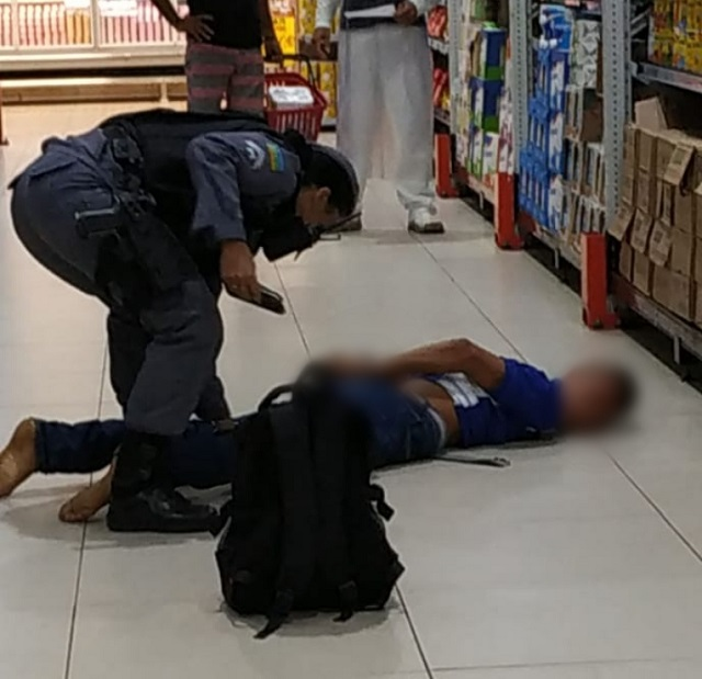 PM captura assaltantes de ônibus